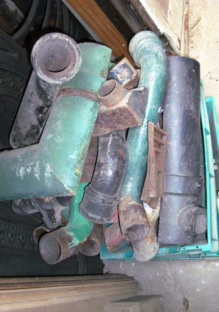 Guttering - Cast iron Guttering