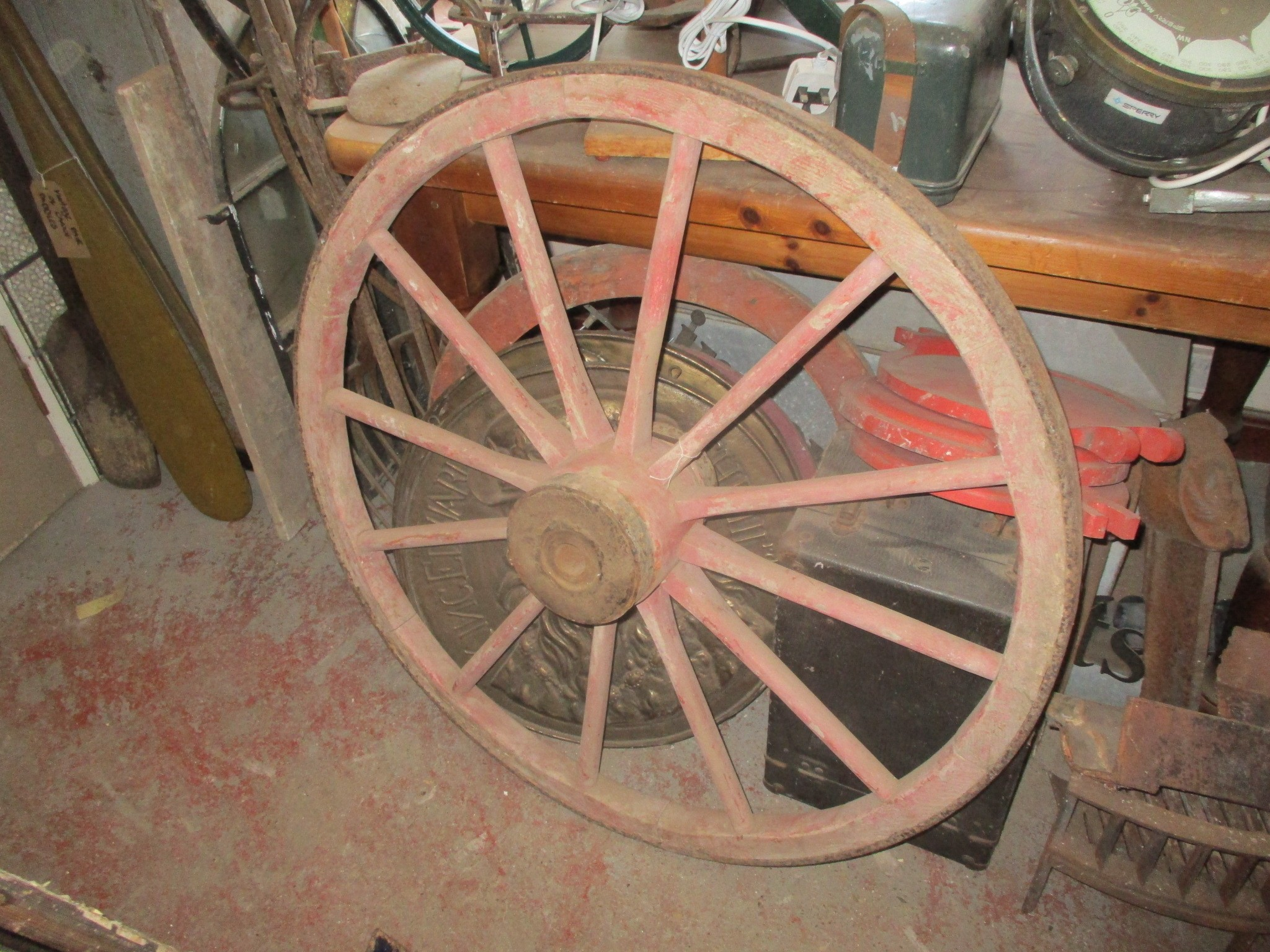 cart wheels always in stock