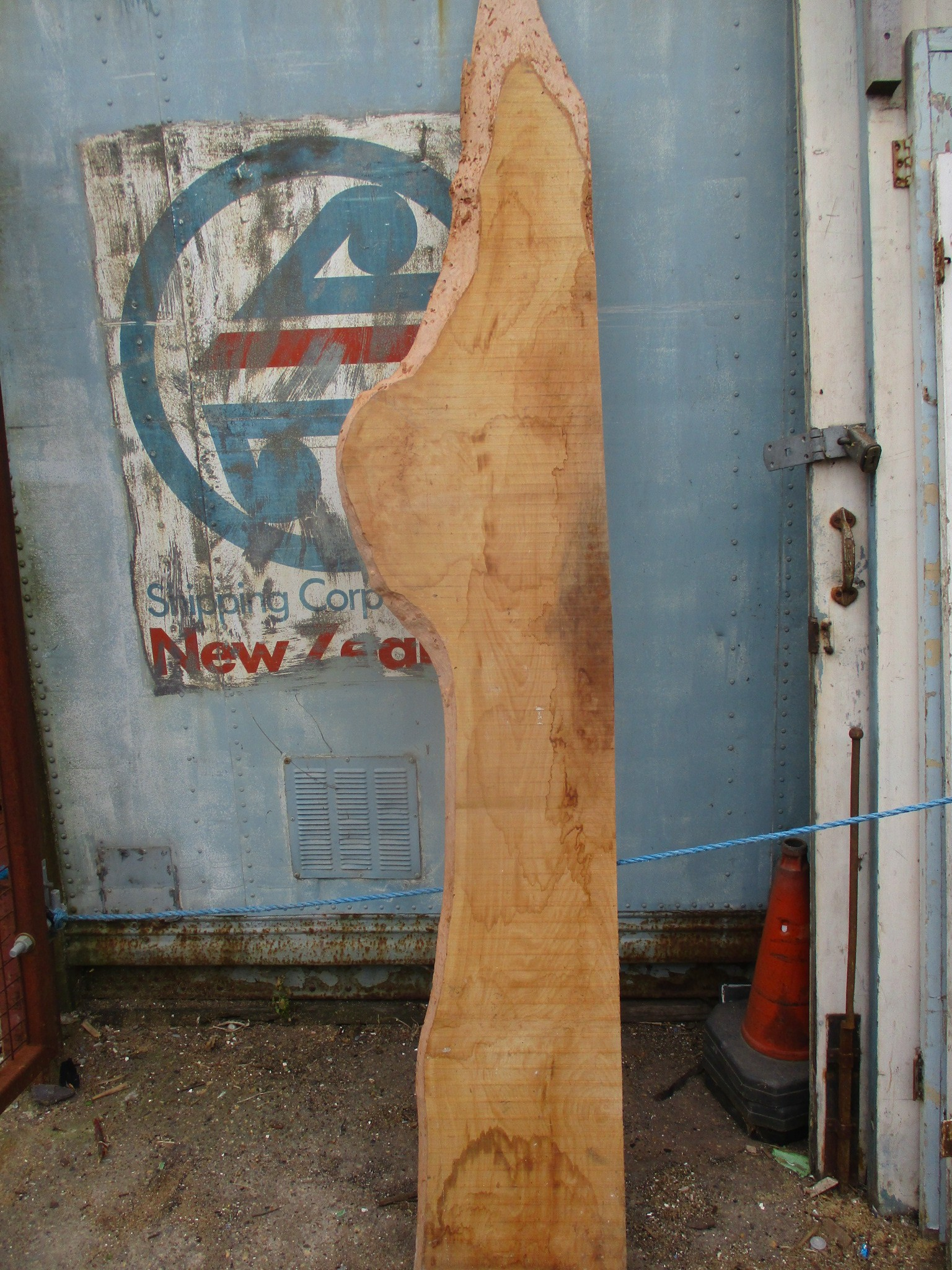 Beech waney board 6ft long xx 14-18