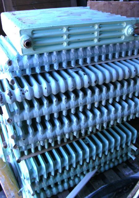 Cast Iron Radiators 4-column ; various sizes in stock