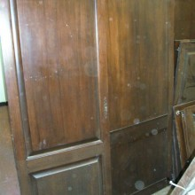 Set Matching Oak cupboard doors