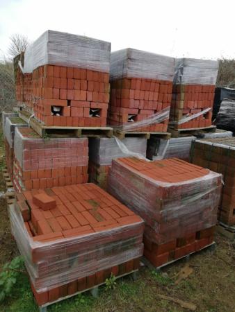 SUFFOLK NORFOLK RED bricks - Metric sized