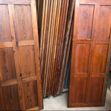 Church Panelling - pitch pine