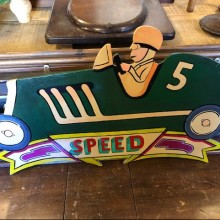 Car - 'Speed' Fairground signage
