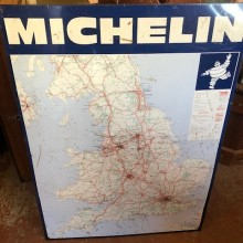 Michelin Vintage Garage map of UK