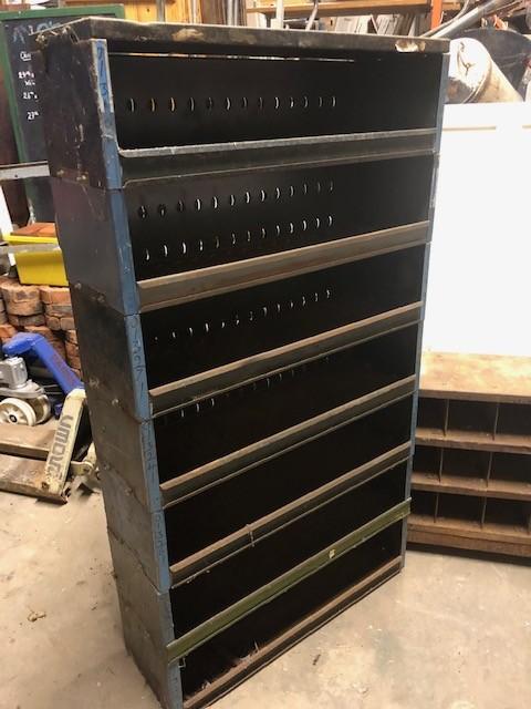 Garage metal shelving 64