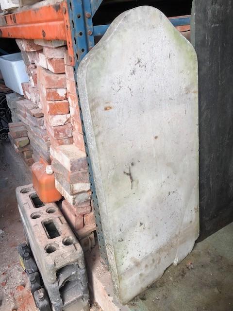 Memorial - York stone , uncarved 48