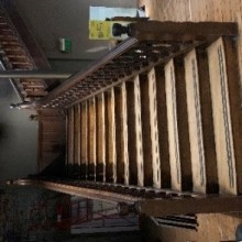 Staircase Large Victorian Pitch Pine
