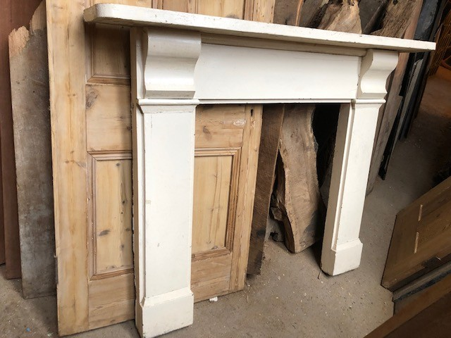 Surround - original painted Victorian Corbel