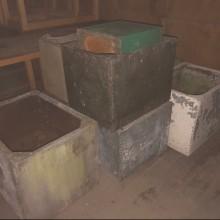 Tanks vintage galvanized - always in stock