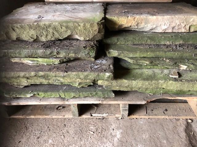 Yorkstone - original reclaimed flagstone