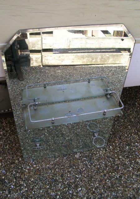 Mirror Bevelled Glass Vanity type