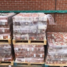 RED reclaimed Norfolk Imperials - 2 3/4