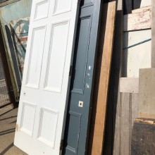 6-panel doors - Large pair available