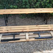 Benches - Beer Garden folding types