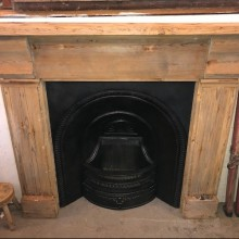 Reclaimed reproduction arch and original surround