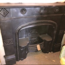 Large Hob Grate and Cast Iron decorative surround