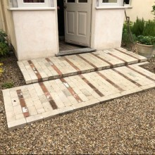 Suffolk Manor House brick step