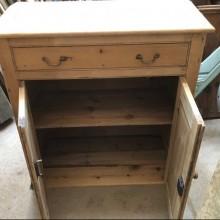 Sideboard - sloping top antique pine 40