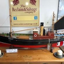 Trawler - hand made model 4ft long YH117