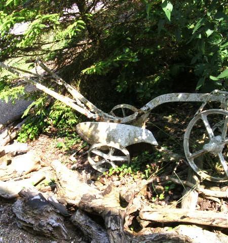 Plough - Reclaimed Iron Plough