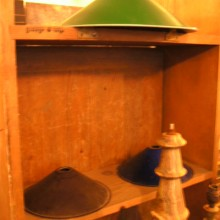 Chinamans Hats Vintage Lamp shades