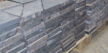 6 Inch Black Quarry Tiles