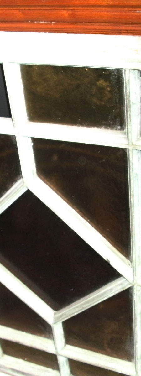 Diamond pattern window frame