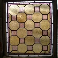 Checkerboard pattern framed light