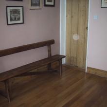 Reclaimed Oak Tongue and Groove floor board