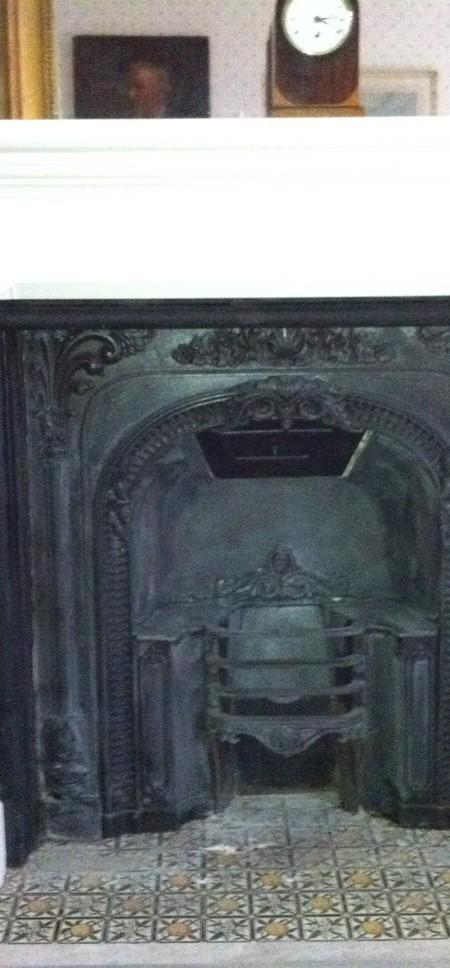 Bespoke Cast Iron Fire Insert for Somerleyton Hall