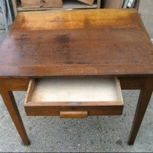 oak desks with drawer