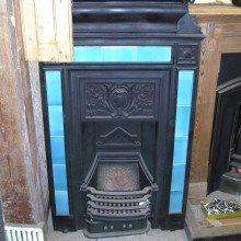 Tall Edwardian tiled combination surround 28