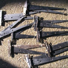 T-Hinges or Blacksmiths Penny Hinges