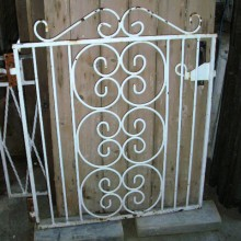 Garden Gate Wrought Iron 36