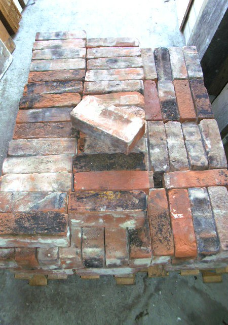Rustic Imperial red bricks