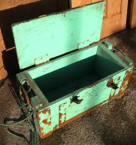 Planter- Vintage work chest planter