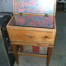 Sewing or needlework box