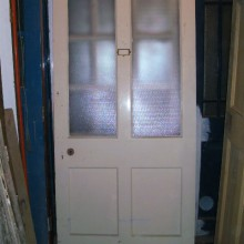 Large internal half glazed 4 panel door 39