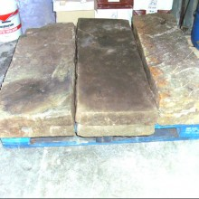 Large Yorkstone and Granite hearth slabs