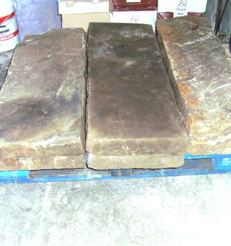 Yorkstone or Granite steps