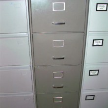 4 drawer Filing cabinets - vintage and modern with keys