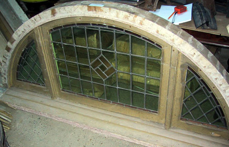 BH Deco Half Round Window