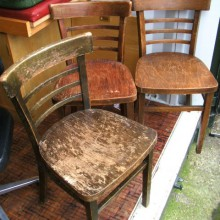 Wooden Chairs vintage