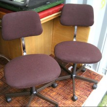 Typists vintage chairs