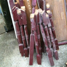 Stair spindles - assorted loads in stock