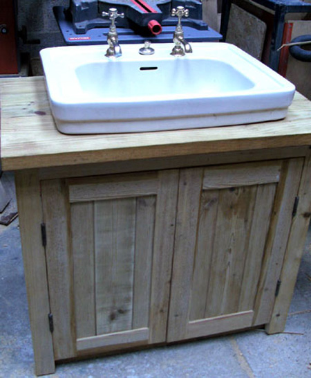 Bespoke Sink and Vanity Unit