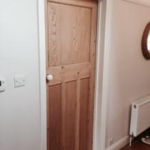 1930's reclaimed doors , reused again