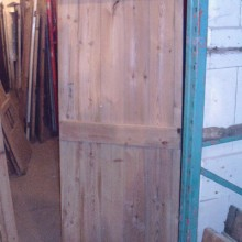 Ledged pine door 28 3/4