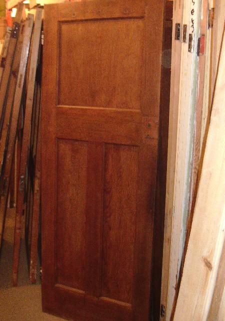 1930's 3 panel doors 30x78